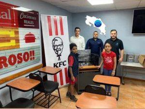 CR Coin y KFC